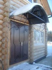 Ворота,  двери,  решетки,  ограждения,  заборы из профнастила