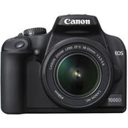 зеркальный фотоаппарат Canon EOS 1000D Kit + аксессуары в Вологде