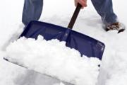 Уборка снега в Вологде.