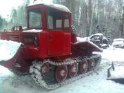 трелевочный трактор тдт-55а