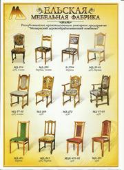 Мебель из Белоруссии столы и стулья