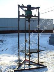 Ручная малогабаритная буровая установка для гидробурения