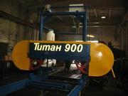 Ленточная пилорама Титан-900