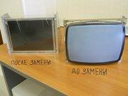 Замена мониторов ЭЛТ CRT на LCD TFT ЖКИ на системах ЧПУ станка .