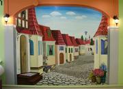 Художественная роспись стен в Вологде