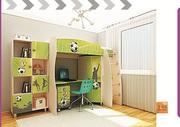 Модульная мебель для детей Футбол
