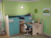 Кровать детская (3-12лет) Караван 9.