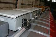 Ремонт преобразователь бортовой тяговый напряжения привод.