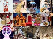 Новогодние декорации и реквизит