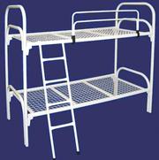 Высокопрочные кровати металлические в оздоровительные лагеря