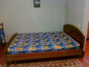СРОЧНО!!! двуспальная кровать евро с ортопедическим матрацем